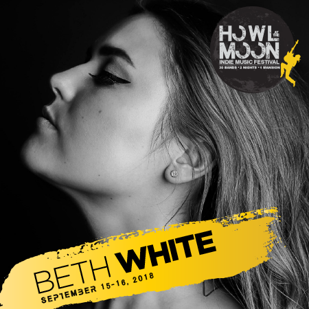 2018 Howl At The Moon Indie Music Festival Artist Beth White