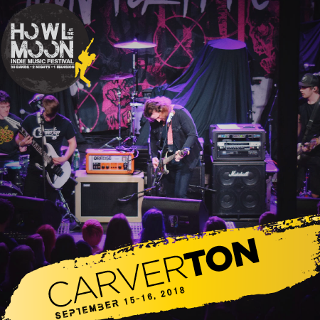 2018 Howl At The Moon Indie Music Festival Artist Carverton