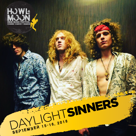 2018 Howl At The Moon Indie Music Festival Artist Daylight Sinners