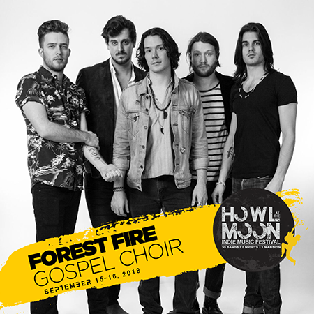 2018 Howl At The Moon Indie Music Festival Artist Forest Fire Gospel Choir