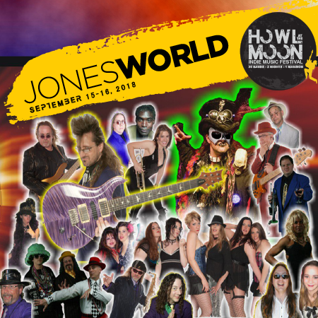 2018 Howl At The Moon Indie Music Festival Artist JonesWorld