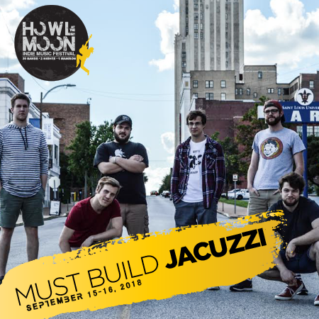 2018 Howl At The Moon Indie Music Festival Artist Must Build Jacuzzi