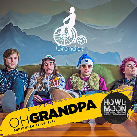 2018 Howl At The Moon Indie Music Festival Artist Oh Grandpa