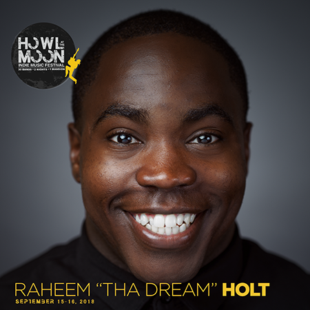 2018 Howl At The Moon Indie Music Festival EMCEE Raheem Tha Dream Holt