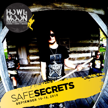 2018 Howl At The Moon Indie Music Festival Artist Safe Secrets