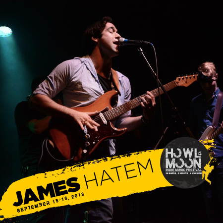2018 Howl At The Moon Indie Music Festival Artist James Hatem