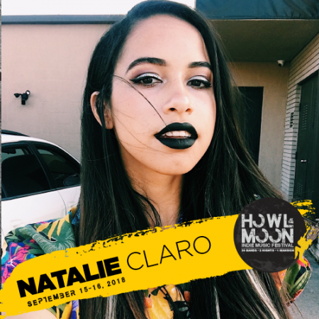 2018 Howl At The Moon Indie Music Festival Artist NATALIE CLARO