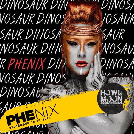 2018 Howl At The Moon Indie Music Fesival Artist PHENIX