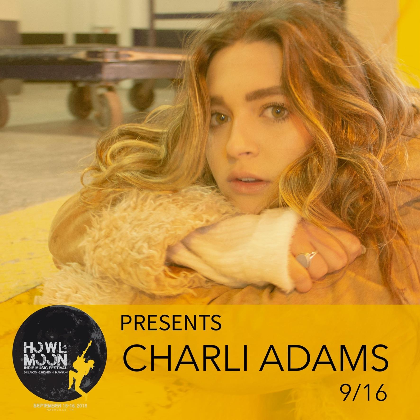 Howl At The Moon Festival Artist Charli Adams